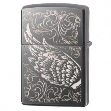 Filigree Flame and Wing Design
