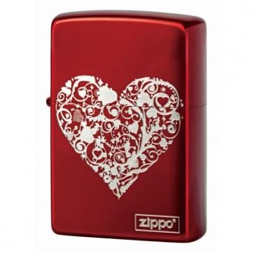 Arabesque Heart Logo Red