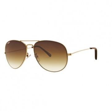 Guld Pilot Solbriller