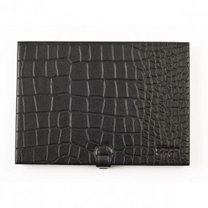 Leather Collector's case. Black