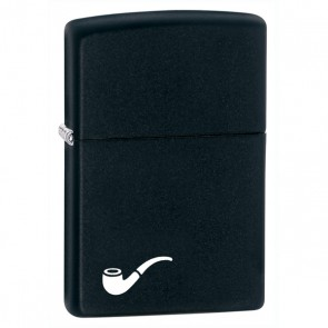 Pipe Lighter Black. Black Matte